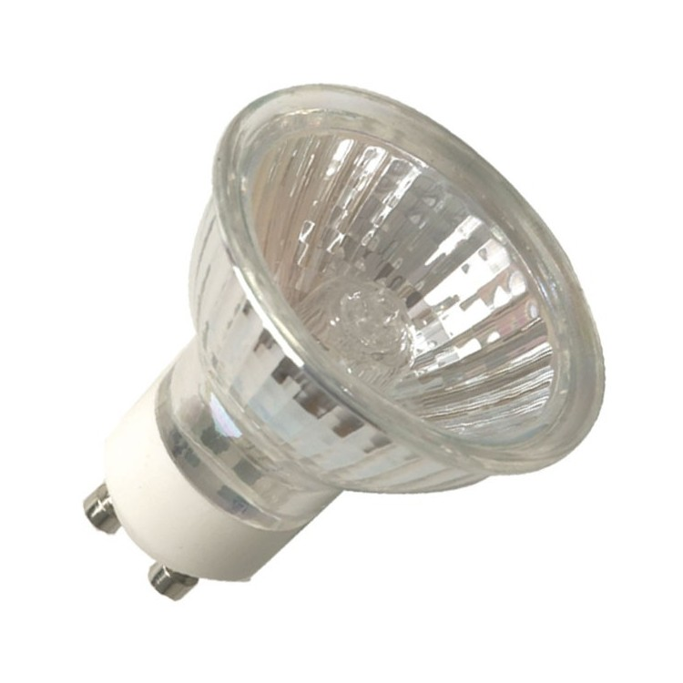 Scatola da 10 lampadine alogene dicroiche GU10 35W 60°