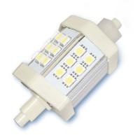 Lampada LED lineare 4W R7s 78mm 360Lm, luce fredda 6400K