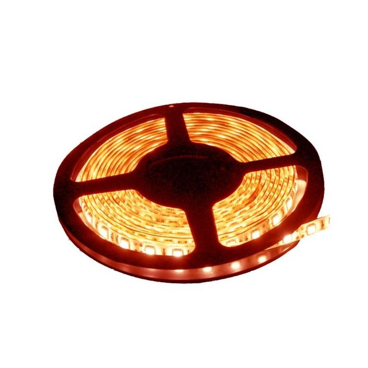 Rotolo di 5 metri LED 7,2W/mt color rosso, 320LM