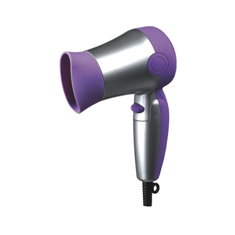 Phon asciugacapelli da viaggio con 2 Velocità, 1200 watt.