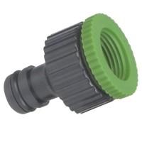 "Presa rubinetto femmina per tubi in PVC. Ø3/4-1/2"""