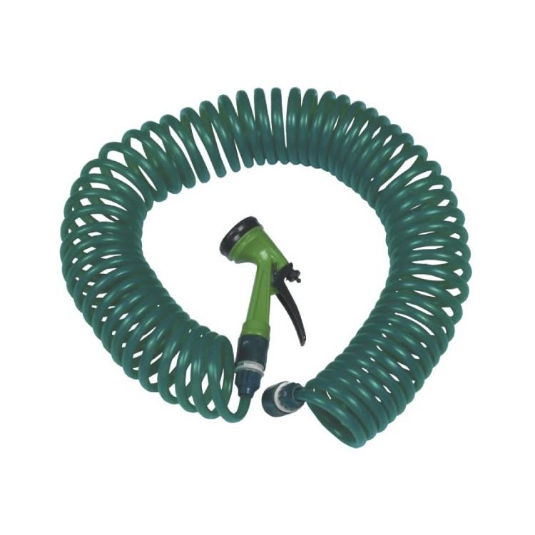 Kit tubo a spirale da 15mt con pistola da 7 funzioni