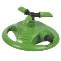 Irrigatore circolare giratorio 360º in plastica per tubi in PVC