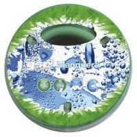 """Tubo da giardino in PVC 25mt con rinforzo retinato, 3 strati 5/8"""" (15mm)"""