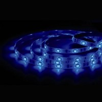 Rotolo di 5 metri LED 7,2W/mt color blu, 320LM