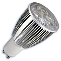 Scatola da 10 lampadine LED GU10 9W 420 lumen 6400K 50º