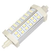 Lampada LED lineare 8W R7s 118mm 720LM luce calda 3000K