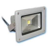 Proiettore LED da 10W in alluminio. 700lm 3000K Luce calda