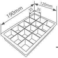 Cubettiera per ghiaccio in silicone
