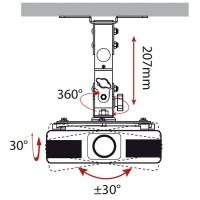 Supporto da soffitto per video-proiettore