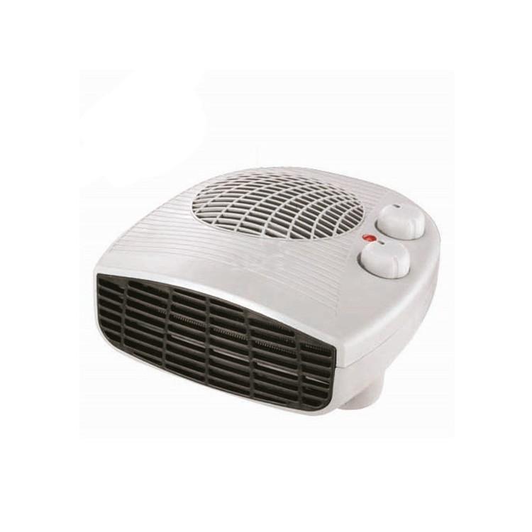 Termoventilatore orizzontale, 1000/2000W con termostato