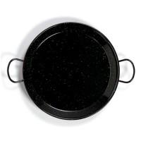 Tegame paellera in acciaio smaltato da Ø500mm