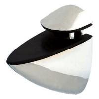 Porta mensola da 4 a 24mm - nichel satinato