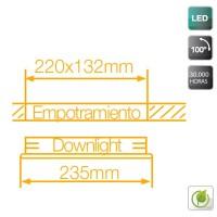 Downlight LED a incasso 30W 1720LM - 4200K