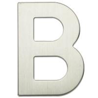 """Lettera Porta in acciaio inox """"B"""""""
