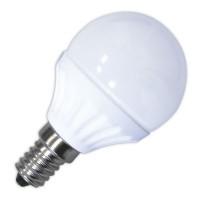 Lampadine LED 470lm sferiche 5W E14 6000K 120º