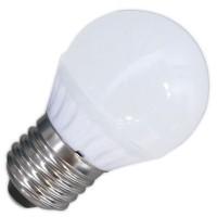 Lampadine LED 470lm sferiche 5W 3000K 120º