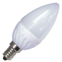 Lampadine LED candela in ceramica 5W E14 470lm 6000K 120º