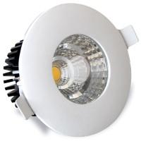 Faretto IP44 LED a incasso 6W 540LM 3000K - Bianco