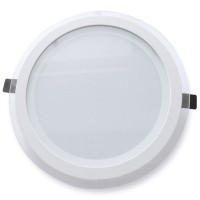 Faretto downlight LED a incasso 22W 2200LM - 4200K, Ø240mm