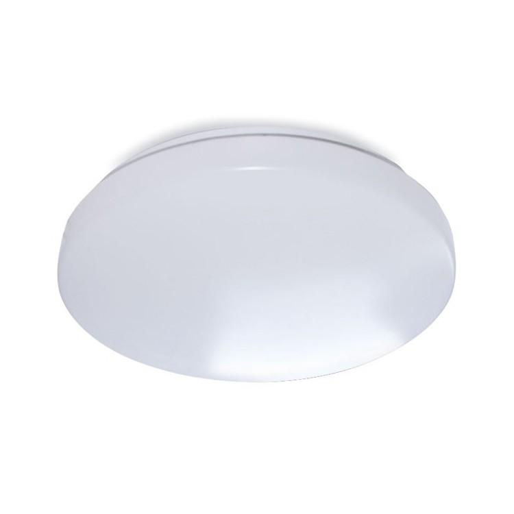 Plafoniera LED 12W 1200LM 3000K, Bianco Ø260mm