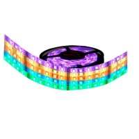 Rotolo di 5 metri LED 7,2W/m 370LM RGB multicolore IP20