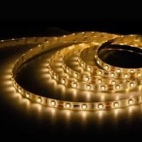 Rotolo di 5 metri LED 7,2W/mt, luce calda, flessibile, impermeabile, autoadesivo