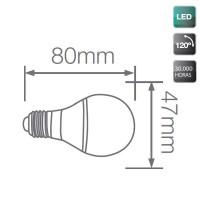 Lampadine decorative LED E27 3W, Gialle