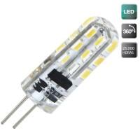 Lampadine LED G4 2W 130lm 3000K 360º