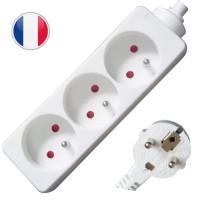 Multipresa elettrica 3 posti