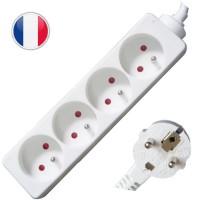 Multipresa elettrica 4 posti