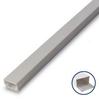 Scatola da 50 Mini canalina adesiva in PVC 10x20mm