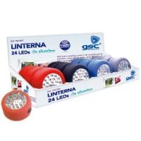 Espositore da 12 lanterne rotonde da 24 LEDs