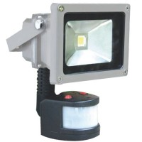 Proiettore LED 10W 700lm 6000K con sensore di movimento