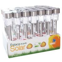 Espositore da 35 paletti solari da giardino con 1 LED luce bianca, batteria R06 (AA), 1.2V / 300mah