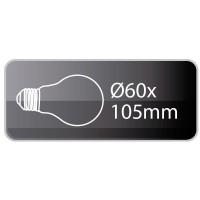 Lampadina decorativa standard E27 40W 120lm 2700K