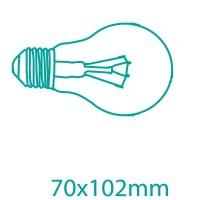 Scatola da 10 lampadine ECO alogene E27 130W (200W) 2500Lm standard