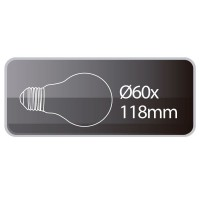 Lampadine LED standard 13W 1200lm E27 6000K 160º
