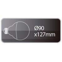 Lampadina LED Globo E27 10W 860lm 6000K 180º