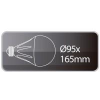 Lampadine LED globo E27 19W 1521lm 3000K Luce calda