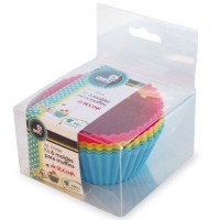 Kit 6 stampi muffin in silicone