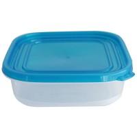 Set da 3 contenitori per alimenti in plastica 750ml