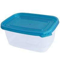 Set da 2 contenitori per alimenti in plastica 1400ml