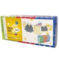Pinze da stendere in plastica - Pack 24 unità
