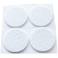 Feltrini adesivi bianco 4 unità