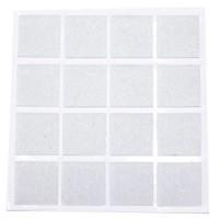 Feltrini adesivi bianco 16x20mm