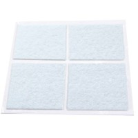 Feltrini adesivi bianco 44x38mm