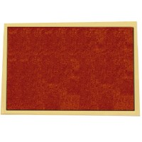 Feltrino adesivo marrone 100x85mm