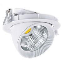 Faretto LED da incasso 30W 2500lm 4200K Ø215mm