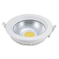 Faretto downlight COB LED da incasso 25W 2200 lumen, 4200K
